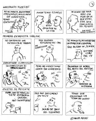 Linkweak: Historias de un antihéroe (tiras 13a 16)