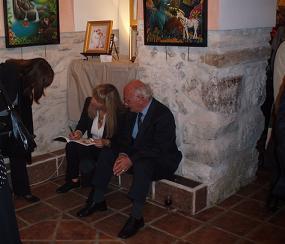 A barlovento: El arte naïf europeo en las caballerizas del Palacio de Olivares