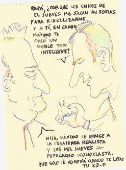 A sotavento: Conversación imaginada, desde el respeto a la institución de La Corona