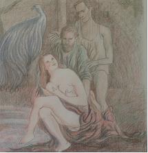 Dibujo comentado: Susana y los jóvenes (1983)